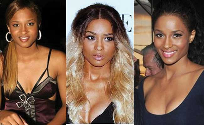 Ciara Plastic Surgery Before and After 2019