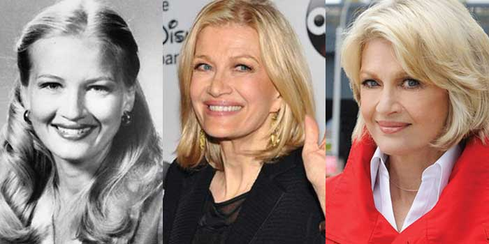 Diane Sawyer Plastic Surgery Before and After 2019
