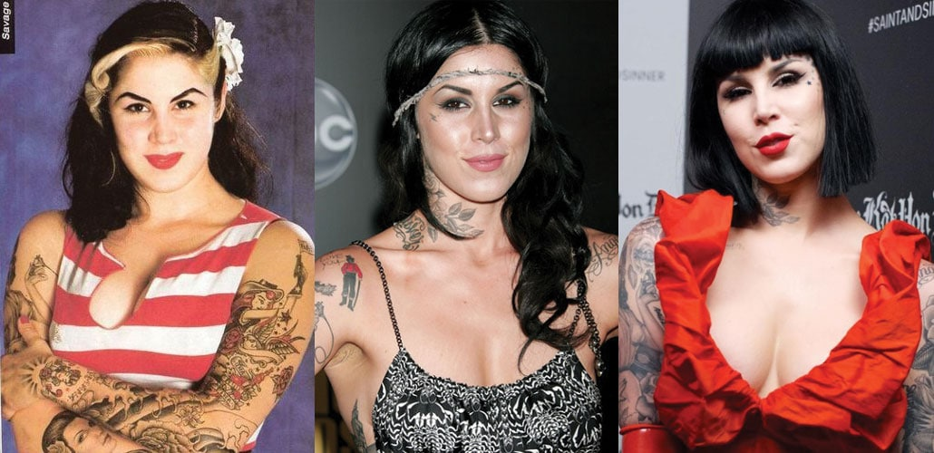 Kat Von D Plastic Surgery Before and After 2021