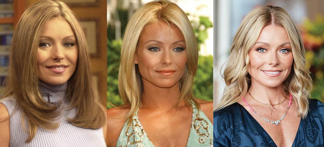 Kelly Ripa Plastic Surgery Before and After 2021