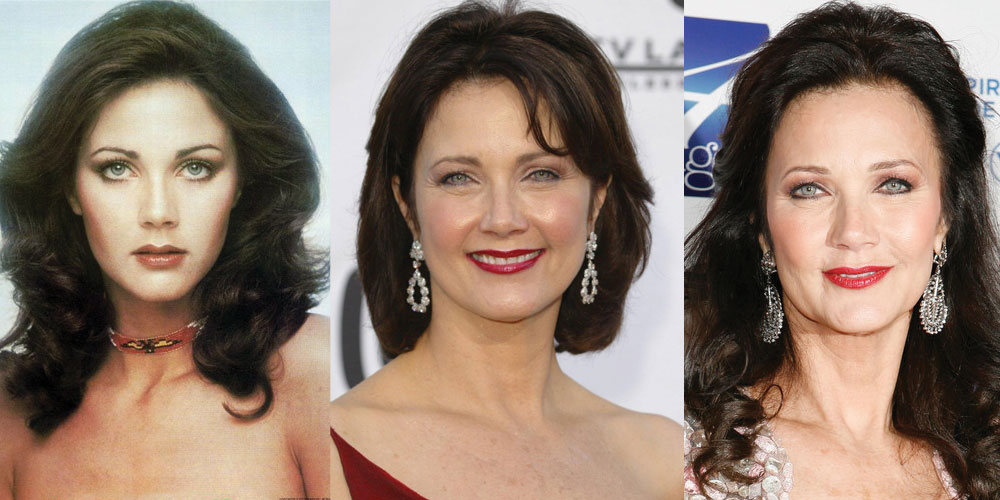 Lynda Carter Plastic Surgery Before and After 2021