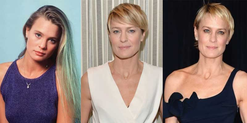Robin Wright Plastic Surgery Before and After 2021