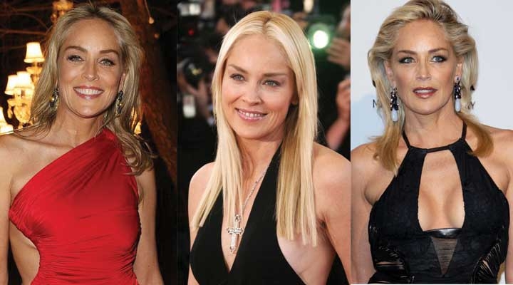 Sharon Stone Plastic Surgery Before and After 2020